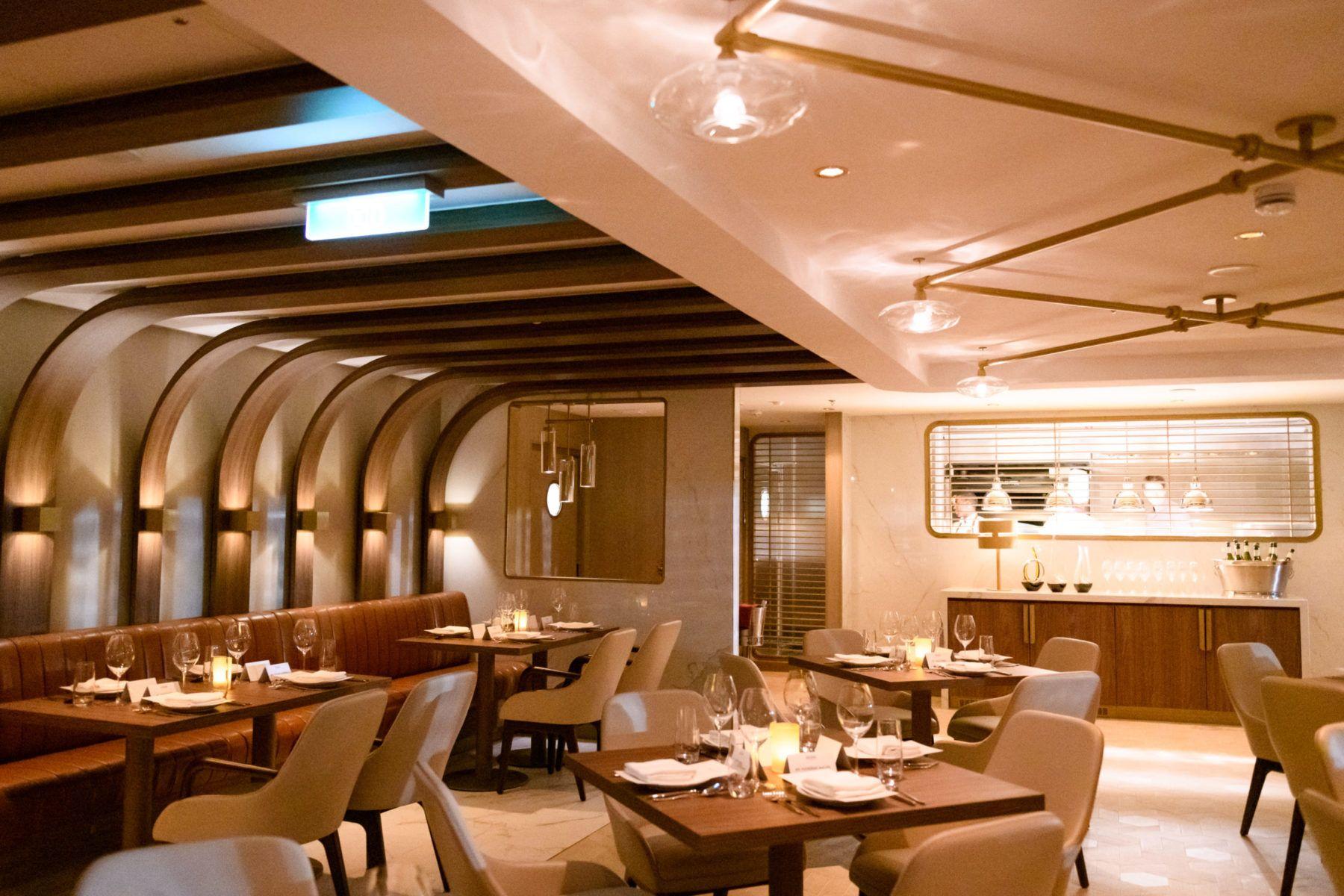 Interior of Onda by Scarpetta restaurant