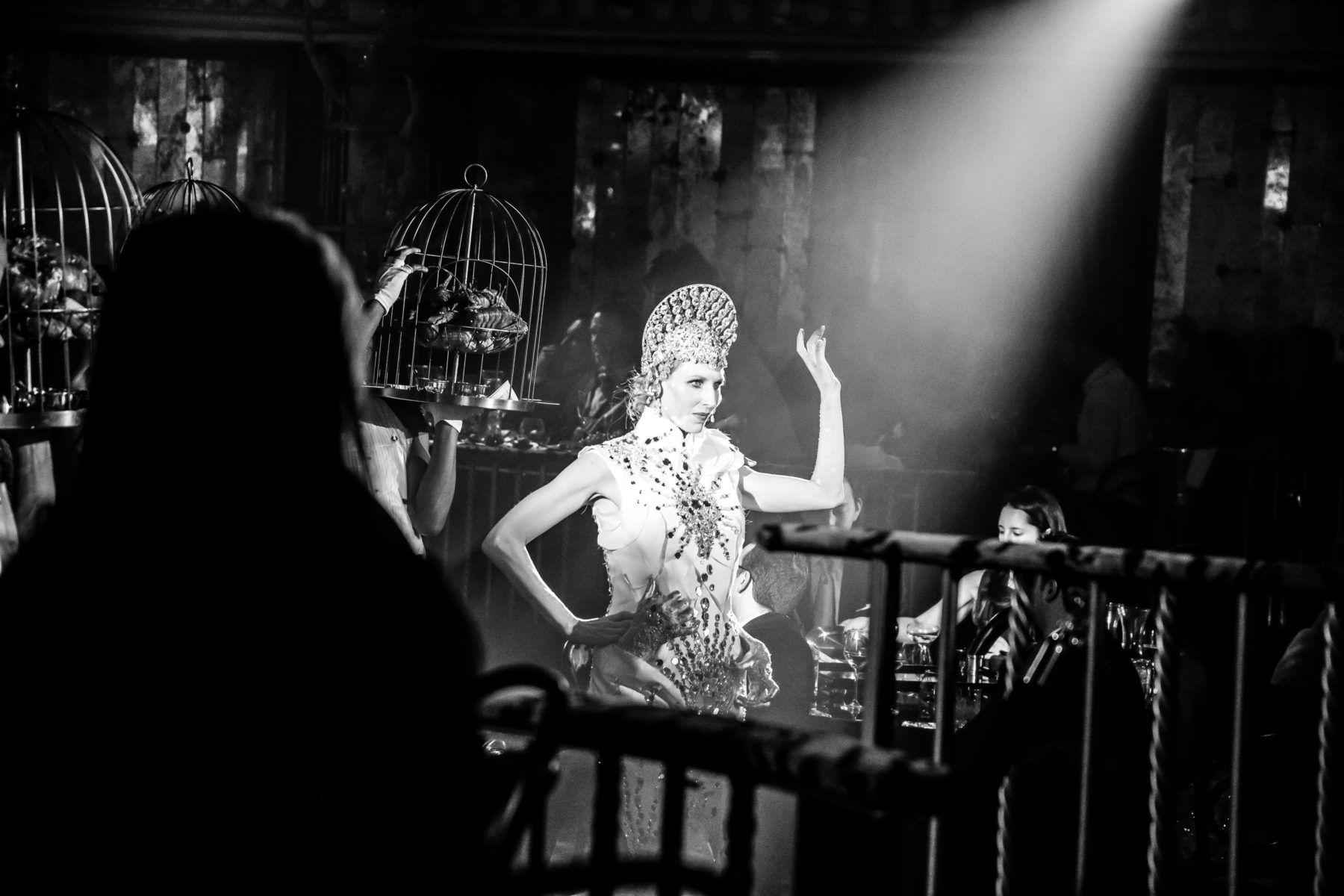 The Queen performing in Queen of the Night
