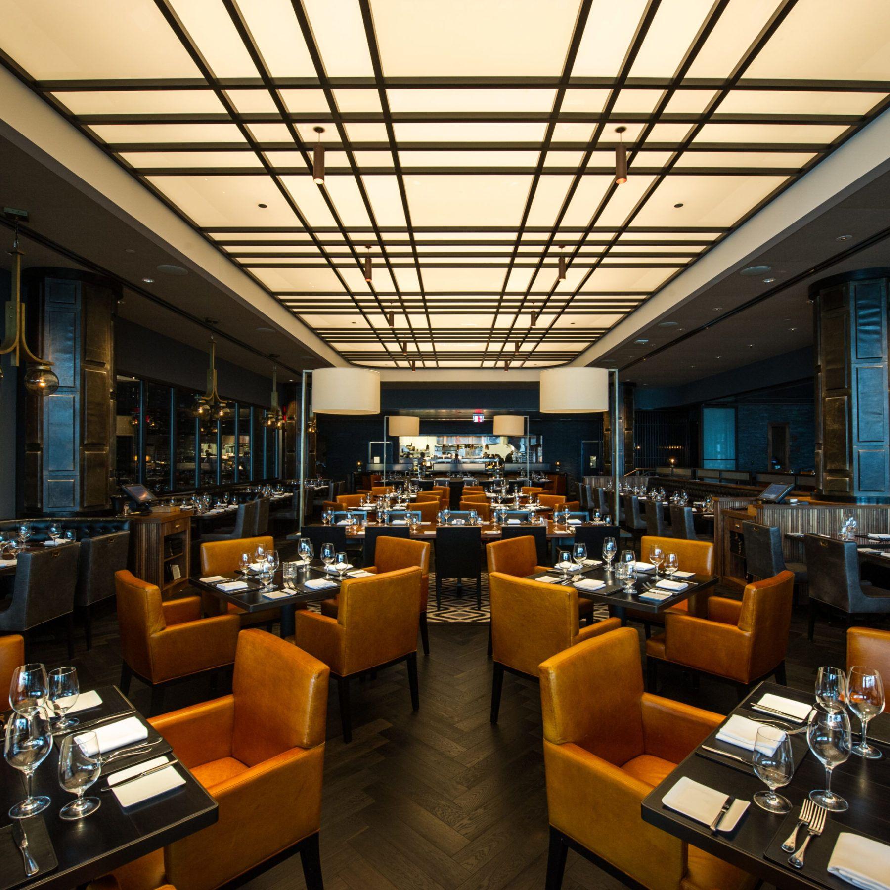 American Cut Interior of Restaurant